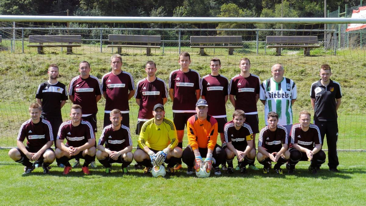 DIe 2. Mannschaft des SV Ulmet 2016.