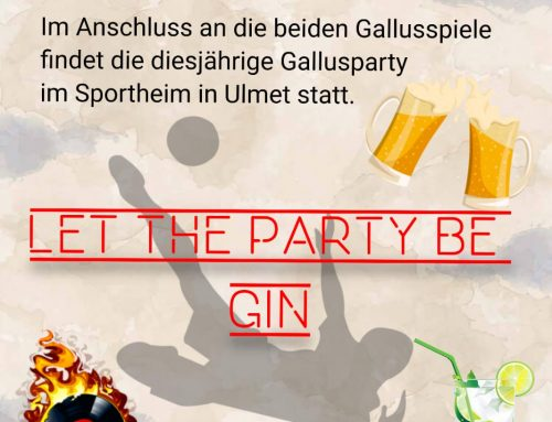 Gallusparty am Sportplatz